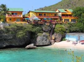Bahia Apartments & Diving, Lagun
