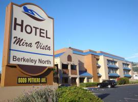 Hotel Mira Vista, El Cerrito (in de buurt van Richmond)