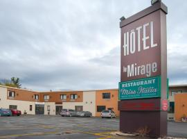 Hotel Le Mirage, Saint-Basile-le-Grand (Beloeil Village yakınında)
