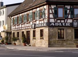 Ringhotel Adler Asperg, Ludwigsburg (Tamm yakınında)
