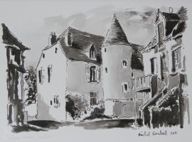 Château Besson, Монлюсон (рядом с городом Deneuille-les-Mines)