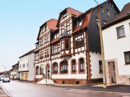 Hotel Zur Hallenburg, Kurort Steinbach-Hallenberg (Viernau yakınında)