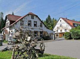 Pension Waldschänke, Geyer (Elterlein yakınında)