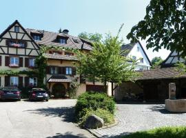 Ferienwohnung Ute, Kandern (Riedlingen Kandern yakınında)