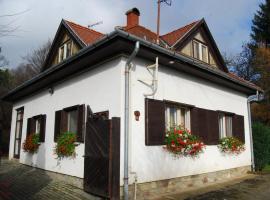 Boróka Apartmanházak - Fagyöngy House, Velem (рядом с городом Cák)