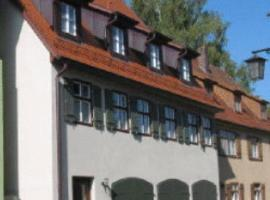 Gästehaus Appelberg, Dinkelsbühl (Langfurth yakınında)