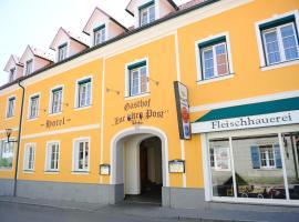 Hotel-Gasthof-Fleischerei - Zur alten Post, Schwanberg (Unterfresen yakınında)