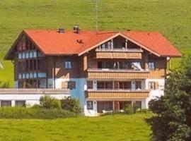 Landhaus Eibelesee - Ferienwohnungen, Oberstaufen (Riefensberg yakınında)