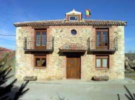 Casa Rural Pincherres, Mata de Quintanar (Bernúy de Porreros yakınında)