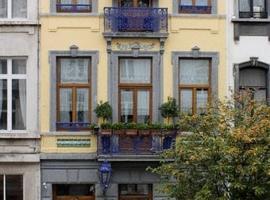 Hotel Les Bluets, Brüksel (Saint-Gilles yakınında)