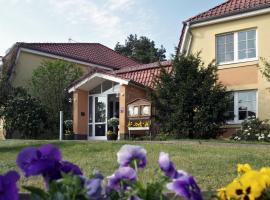 Hotel Zum Leineweber, Burg (Müschen yakınında)