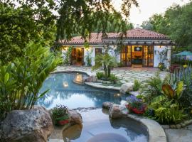 Cabana Las Floras, Montecito (V destinácii Summerland a okolí)
