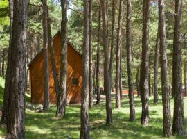 Camping Fontfreda, Castellar del Riu (Capolat yakınında)