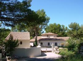 Villa Chante Coucou, Фонтен-де-Воклюз (рядом с городом Saumane-de-Vaucluse)