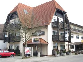 Hotel Waldparkstube, Bad Schonborn (Kronau yakınında)