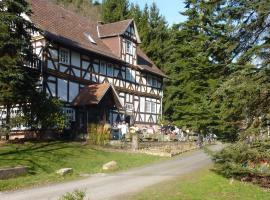 Hof Guttels Waldgasthof Ferienpension, Rotenburg an der Fulda (Obergude yakınında)
