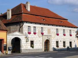 Hotel Na Velké Hospodě, Sedlice (Cerhonice yakınında)