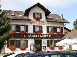 Gasthaus zur Grässelmühle, Sasbach in der Ortenau (Achern yakınında)
