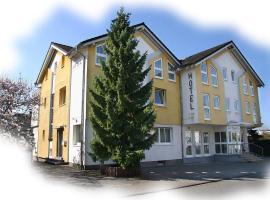 Hotel Garni Zur Bergstrasse, Zwingenberg