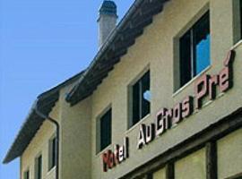 Motel au Gros Pré, Delémont (Moutier yakınında)