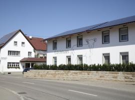 Gasthaus Lamm Garni, Blaubeuren (Schelklingen yakınında)