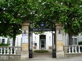 Hôtel des Thermes, Bourbon-l'Archambault (рядом с городом Saint-Aubin-le-Monial)