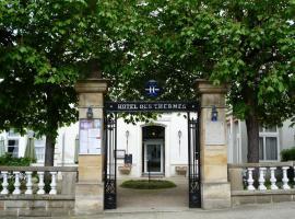 Hôtel des Thermes, Bourbon-l'Archambault (рядом с городом Briette)