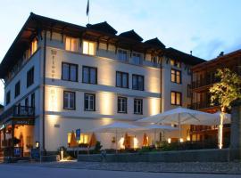 Hotel Weisses Kreuz, Бергюн