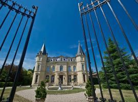 Chateau Pontet d'Eyrans & Spa, Eyrans (рядом с городом Saint-Paul)