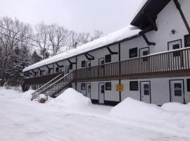 Alpengruss Café & Motel, Wakefield (Val des Monts yakınında)