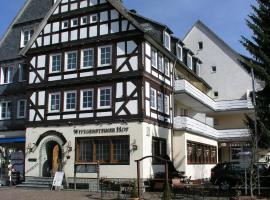 Hotel Wittgensteiner-Hof, Bad Laasphe (Breidenstein yakınında)