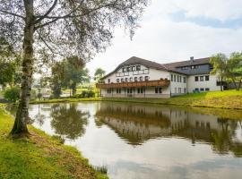 Hotel Burg Hof, Burg-Reuland (Lascheid yakınında)