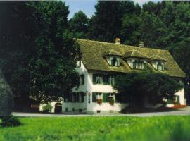 Hotel Krone Sihlbrugg, Sihlbrugg Dorf (Schönenberg yakınında)