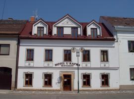 Hotel u Kapra, Lázně Bělohrad (Hořice yakınında)