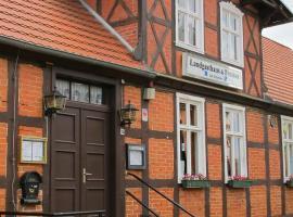 Landgasthaus & Pension Liebner, Groß Pankow (Pritzwalk yakınında)