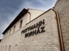 Frittmann Borászat és Panzió, Soltvadkert (рядом с городом Pirtó)
