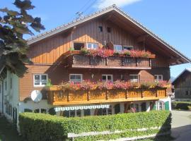 Gasthof Pension Riedbergerhorn, Bolsterlang (Obermaiselstein yakınında)