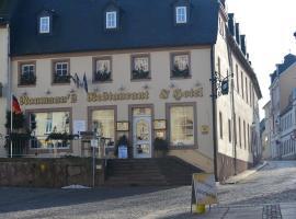Naumann`s Hotel & Restaurant, Burgstaedt (Lunzenau yakınında)