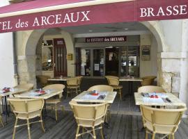Hotel Les Arceaux, Saint-Sever (рядом с городом Aurice)