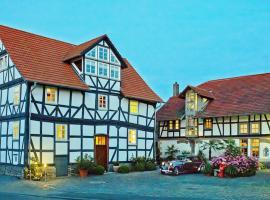 Romantik Hotel Zum Rosenhof, Hesserode (Unshausen yakınında)