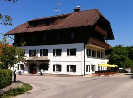 Gasthof Pension Steinberger, Sankt Georgen im Attergau (Strass im Attergau yakınında)