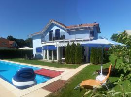 House with Pool, Whirlpool and Sauna, Dottikon (Mellingen yakınında)