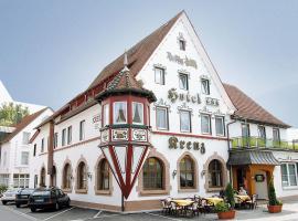 Hotel und Gästehaus Kreuz, Gammertingen (Inneringen-Hettingen yakınında)