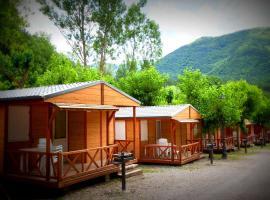Camping L'Espelt, La Pobla de Lillet