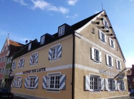 Hotel Garni zur Laute, Mindelheim (Near Erkheim)