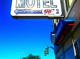 Marble Motel, Tremonton (in de buurt van Honeyville)