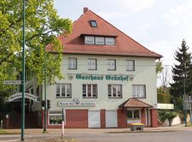 Gasthaus & Hotel Grünhof, Frankfurt/Oder (Wulkow yakınında)