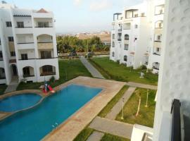 Appartement Asilah Marina Golf, Madagh (Nær Taforhalt)