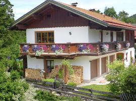 Ferienhaus Eva, Ruhpolding (Sankt Valentin yakınında)