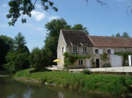 Moulin de Prenoulat, Crain (рядом с городом Mailly-le-Château)